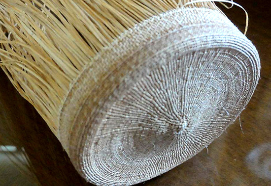 Basket woven by Meghann O'Brien