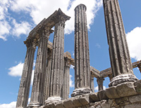 Ruins of Roman Temple - Evora