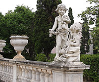 Queluz Garden Sculpture